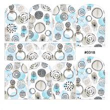 Слайдер-дизайн для ногтей № 0318
