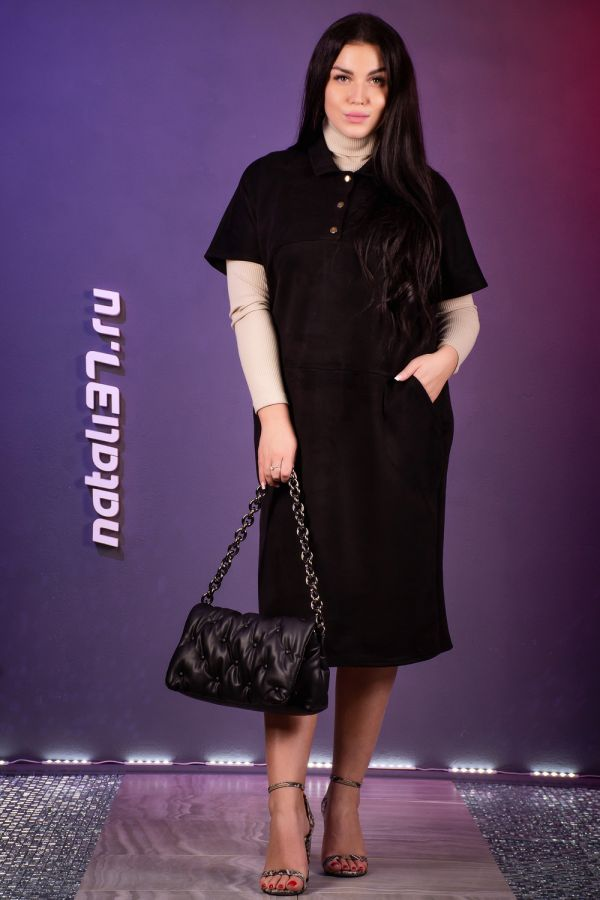 Платье 13409 [черный]