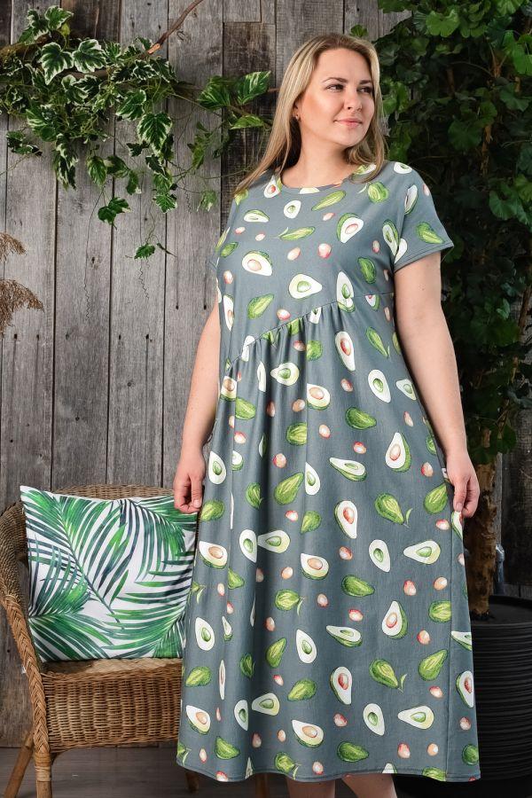Платье 4535 [зеленый]