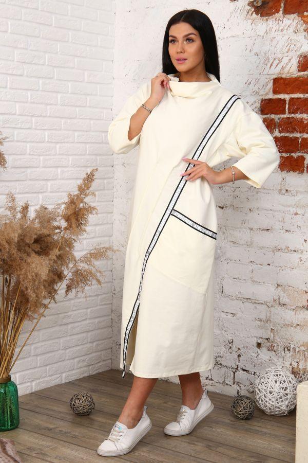 Платье 12007 [молочный]