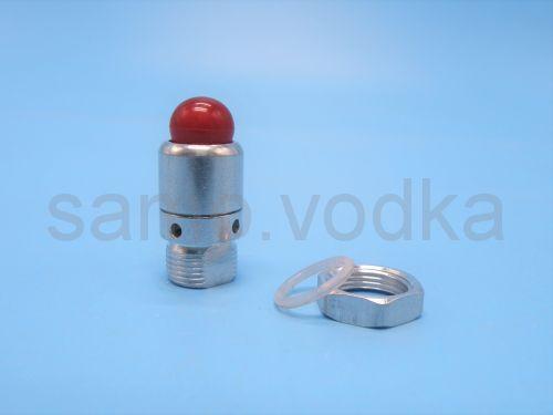 Клапан избыточного давления 13 мм (красный)