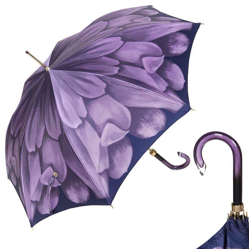 Зонт-трость Pasotti Uno Georgin Viola