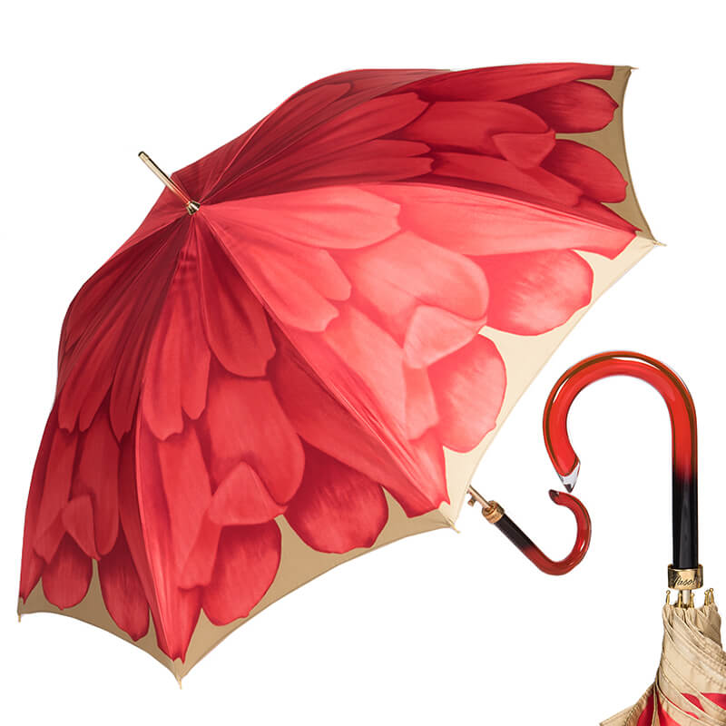 Зонт-трость Pasotti Uno Georgin Coral
