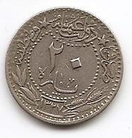 20 пара Османская империя 1327 (1909)