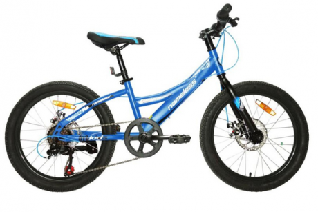 "Велосипед 20"" Nameless S2300D, синий/белый, 13"""