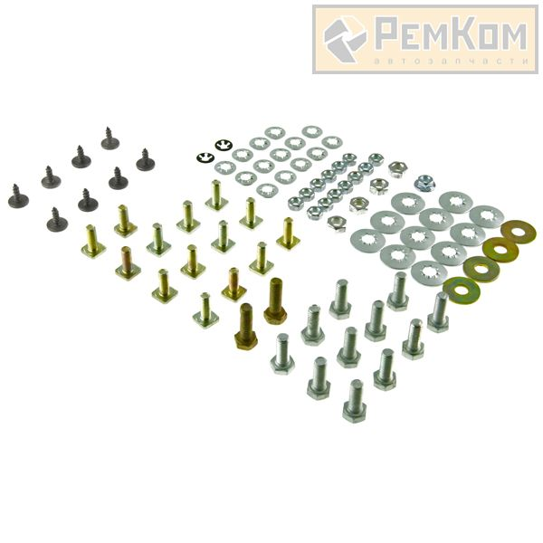 RK01163 * Ремкомплект крепления переднего бампера для а/м 2190 нового образца