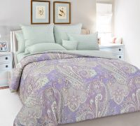 «Восточное утро 1» постельное белье Сатин 2-х спальный с евро