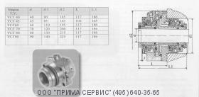 Торцовое уплотнение насоса НПС200/700