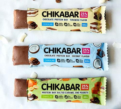CHIKABar в молочном шоколаде
