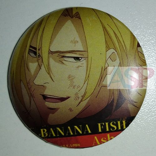 Значок (Средний 37 мм) Banana Fish