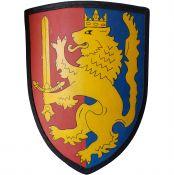 Щит Бретонский со львом