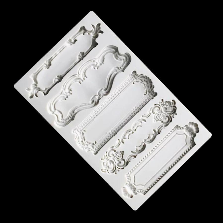 Молд силиконовый Бордюры2