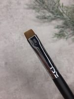 Кисть Mileo 9 для бровей прямая(черная ручка)