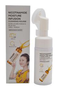 Мусс для умывания nicotinamide moisture infusion с никотиновой кислотой , 120 мл