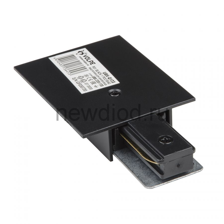 Ввод питания для шинопровода UBX-Q123 R01 BLACK 1 POLYBAG