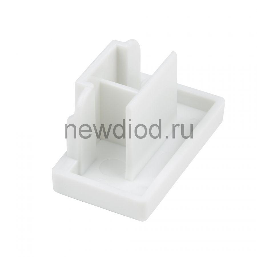 Заглушка торцевая для шинопровода UFB-Q123 C21 WHITE 1 POLYBAG