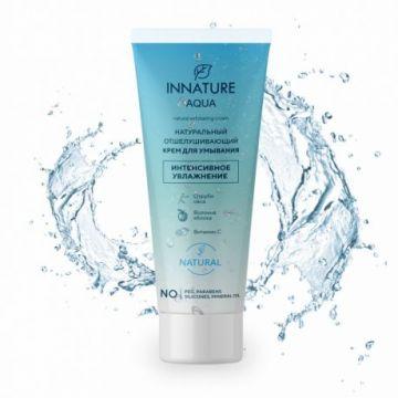 INNATURE - Aqua Отшелушивающий крем для умывания, 75мл