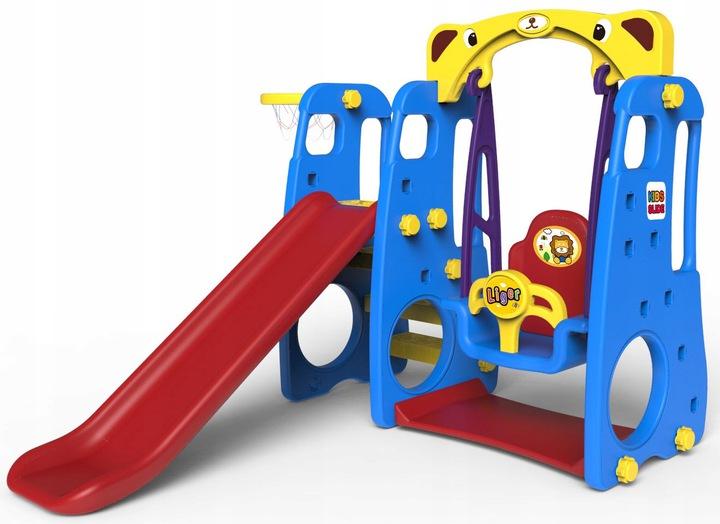 Садовая игровая площадка Swing Slide Basket