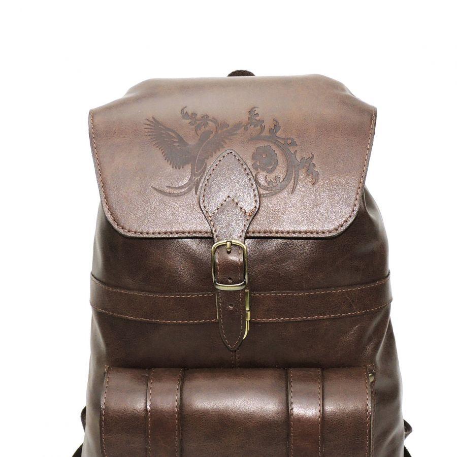 """Коричневый кожаный рюкзак  """"Примавера"""""""