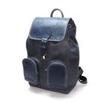 """Синий кожаный рюкзак  """"Селесте"""""""
