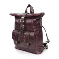 """Кожаная сумка-рюкзак  """"Лавиния"""""""