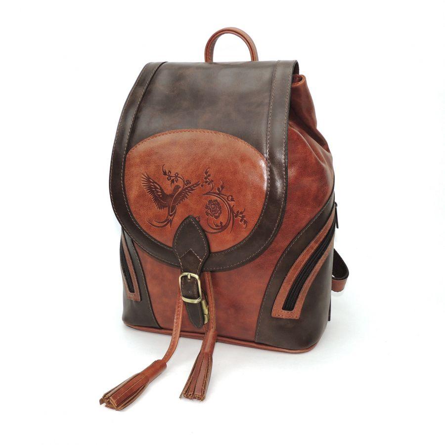 """Кожаный рюкзак  """"Ясмина"""""""
