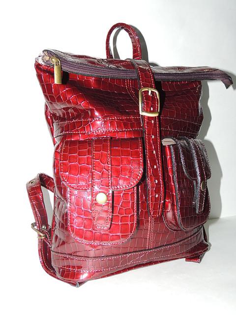 """Кожаный эксклюзивный рюкзак  """"Редстоун"""""""