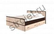Кровать сакура 1600*2000 с Ящиками