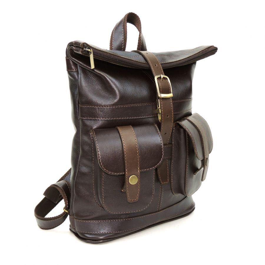 """Коричневый кожаный рюкзак  """"Клэр"""""""