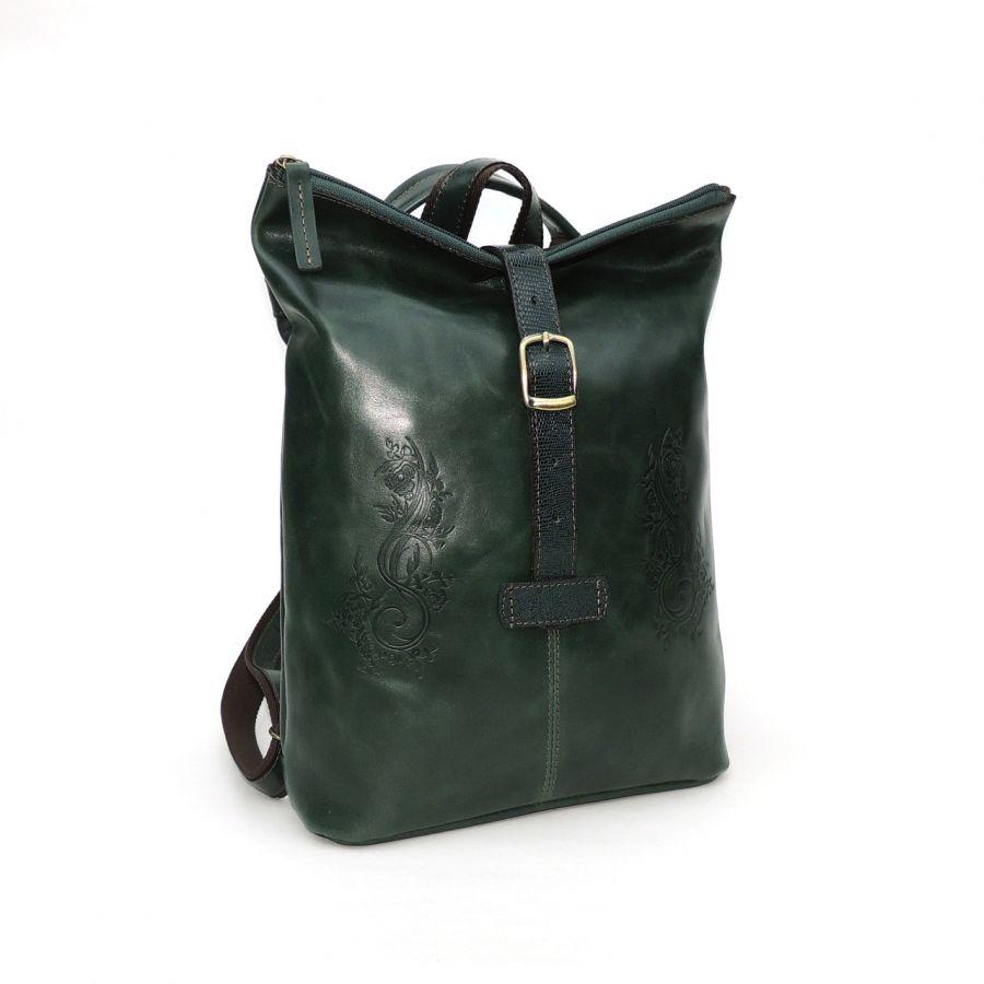 """Сумка-рюкзак из натуральной кожи  """"Алисс"""""""