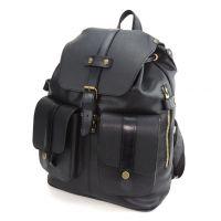 """Черный кожаный рюкзак  """"Габриэль"""""""
