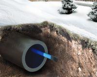 Комплект для обогрева трубы внутри (защита от замерзания в трубу) Freezstop Inside-10 купить в Екатеринбурге