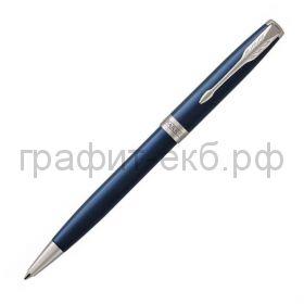 Ручка шариковая Parker Sonnet Core LagBlue CT синий лак К539 1931536