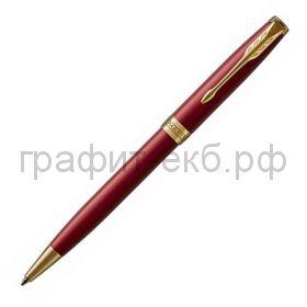 Ручка шариковая Parker Sonnet Core LaqRed GT красный лак К539 1931476