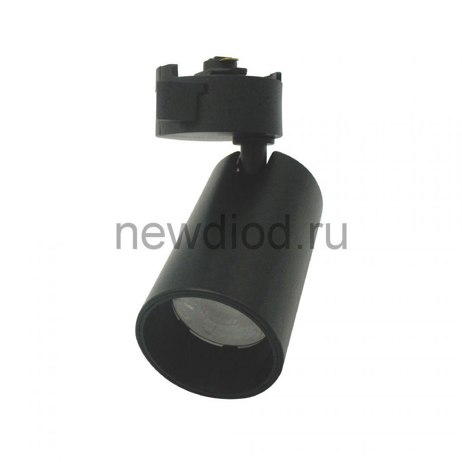Светильник-прожектор трековый ULB-Q276 8W/4000К BLACK 800Лм 4000К корпус черный ТМ Volpe