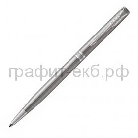 Ручка шариковая Parker Sonnet Core Slim Stainless Steеl CT сталь К426 1931513