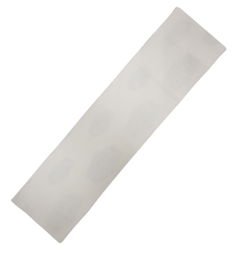 Шкурка для самоката 40*11 см прозрачная крупнозернистая