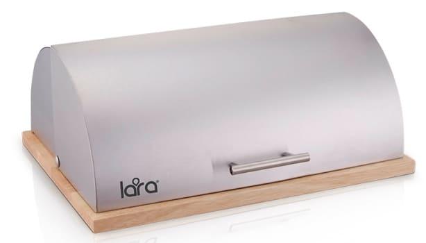 Хлебница LARA LR08-82  (10 л), ДЕРЕВЯННАЯ СТОЛЕШНИЦА