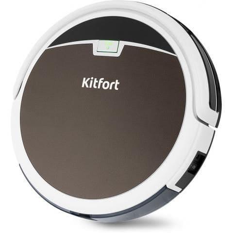 Робот-пылесос KitFort KT-519-4 коричневый