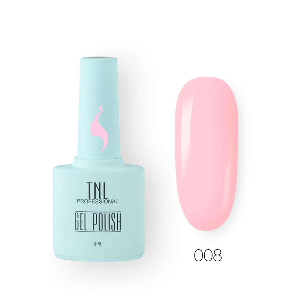 Гель-лак TNL 8 Чувств №009 - розово-лиловый (10 мл.)