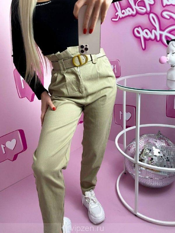 Классные джинсы слоучи с ремнём в комплекте