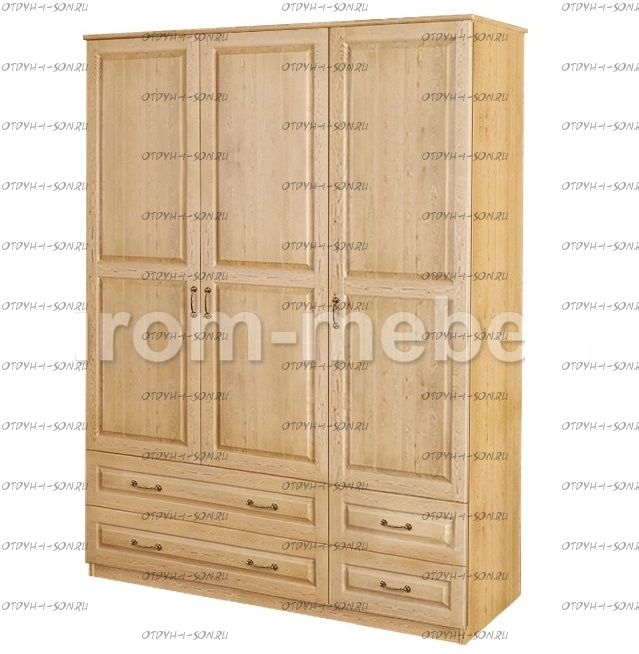 Шкаф 3-дверный ECO-18 (120х45х190)