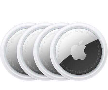 Трекер беспроводная метка Apple AirTag 4 шт.
