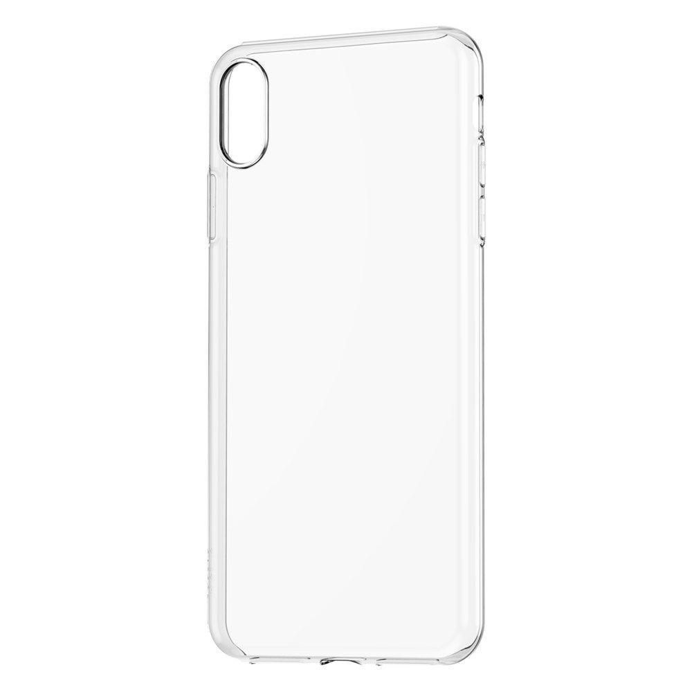 Силиконовый прозрачный чехол на IPhone XR
