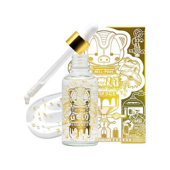 Elizavecca Увлажняющая омолаживающая эссенция с 24-каратным золотом Milky Piggy Hell-Pore Gold Essence