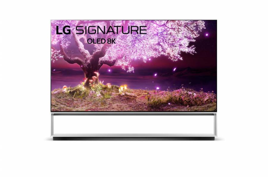 Телевизор LG OLED88Z19LA 8K Smart OLED (Экран + тумба)
