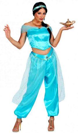 Костюм Арабской Принцессы (голубой, размер -S)