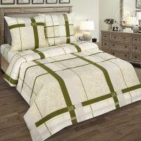 «Пальмира» (DE LUXE) постельное белье Поплин Семейный