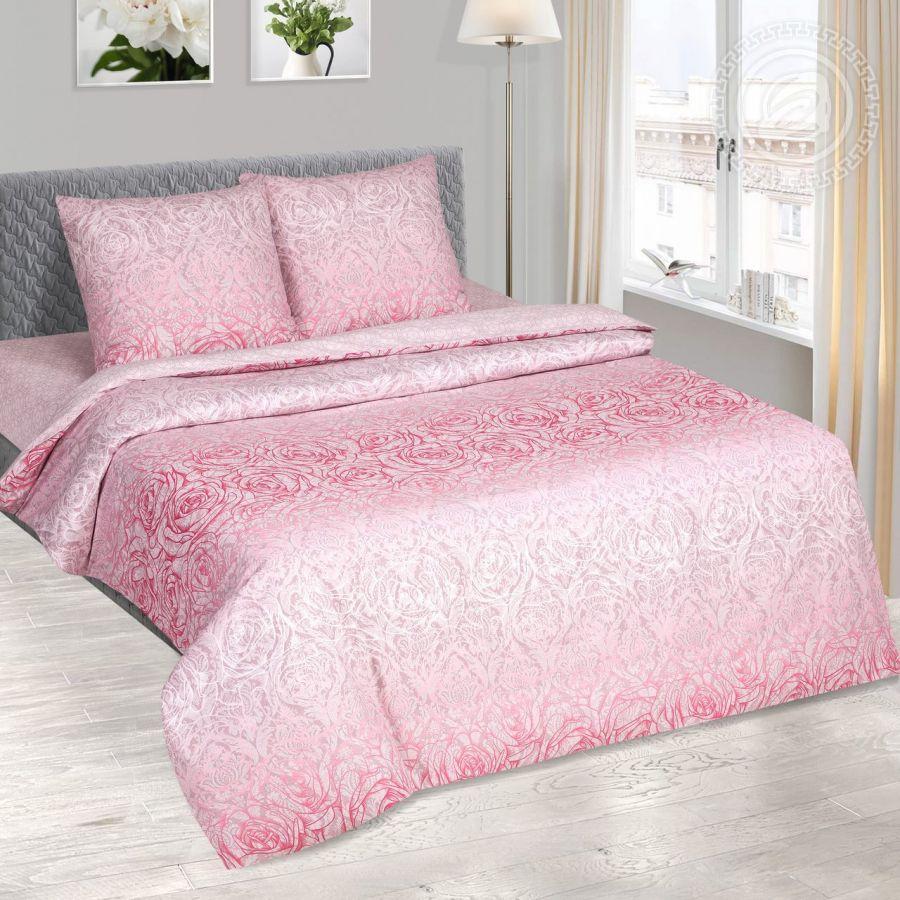 «Соблазн» (DE LUXE) постельное белье Поплин 1.5 спальный