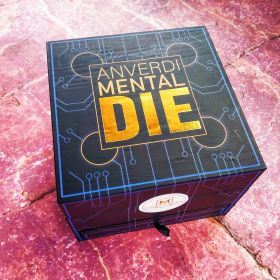 Mental Die by Tony Anverdi  (белый / чёрный)